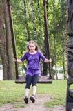 sväng för flicka Royaltyfri Fotografi