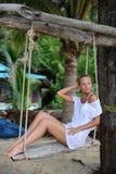 sväng för paradis Royaltyfria Bilder