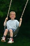 sväng för pojke Fotografering för Bildbyråer