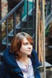sväng kvinnan Fotografering för Bildbyråer