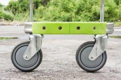 Svängbart hjulhjul Arkivfoton