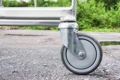 Svängbart hjulhjul Royaltyfri Fotografi