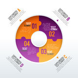 Svängtappen särar Infographic Arkivbilder
