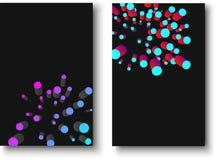 Svärta texturerade bakgrunder med den geometriska modellen för färg 3d Fotografering för Bildbyråer