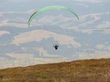 Sväva paraglider Royaltyfria Foton