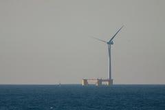 Sväva vindturbinen Royaltyfri Fotografi