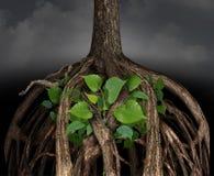 Svårt affärstillväxtbegrepp royaltyfri illustrationer
