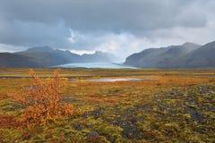 Svï¿ kull Gletsjer ½ nafellsjï ¿ ½ Royalty-vrije Stock Foto