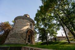 SV de la Rotonda Martina en Praga foto de archivo