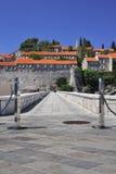 SV. Isla de Stefan, Montenegro Fotografía de archivo libre de regalías