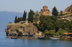 Sv. Jovan, Kaneo church  Ohrid Royalty Free Stock Photo