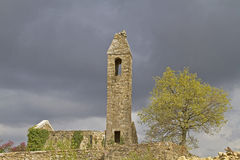 Sv Juraj. Old Romanesque church ruins in the Mirna valley in Croatia royalty free stock photography