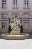 Sv. Juraja fountain in Bratislava Stock Photos