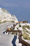 Sv. Jure, Biokovo Mountains. View from Sv. Jure top on Biokovo Mountain in Croatia Stock Photos