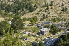 Sv. Jure, Biokovo Mountains. View from Sv. Jure top on Biokovo Mountain in Croatia Stock Images