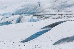 Svínafellsjökull Glacier Royalty Free Stock Photos