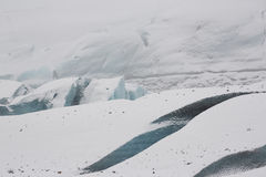 Svínafellsjökull Glacier, Iceland Royalty Free Stock Photos