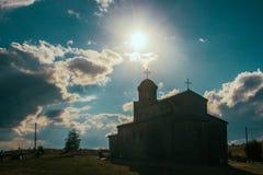 Sv. Preobrazenie (The Holy Ascension) Monastery - Krusevo, Macedona Stock Photo