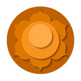 Svadhishthana chakra Royalty Free Stock Photo