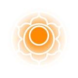 Svadhishthana chakrasymbol Royaltyfri Fotografi