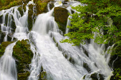 Svalavattenfall för UK Wales Fotografering för Bildbyråer
