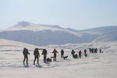 Svalbard Νορβηγία Στοκ φωτογραφία με δικαίωμα ελεύθερης χρήσης