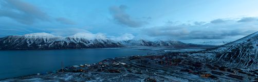 Svalbard Fotografia Stock