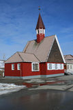 Svalbard Church Stock Image