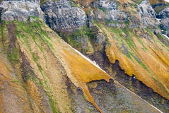 Svalbard Cliffs, Uglefjellet Royalty Free Stock Photography