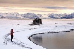 Svalbard Eilanden (Spitsbergen) Royalty-vrije Stock Foto's