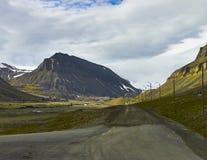 Svalbard island Stock Photo