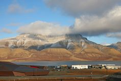 Svalbard islands, Norway royalty free stock image
