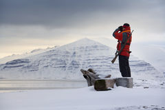 Svalbard Islands (Spitsbergen) Stock Images
