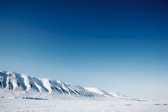 Svalbard landscape Royalty Free Stock Photo