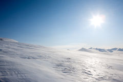 Svalbard Landscape Stock Photography