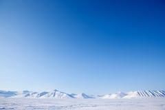 Svalbard Landscape Royalty Free Stock Image