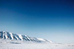 Svalbard landschap Royalty-vrije Stock Foto