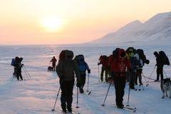 Svalbard Noorwegen Stock Afbeelding