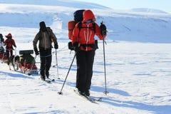 Svalbard Noorwegen Royalty-vrije Stock Foto