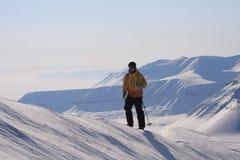 Svalbard Noorwegen Stock Afbeeldingen