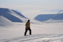 Svalbard Norge Royaltyfri Bild