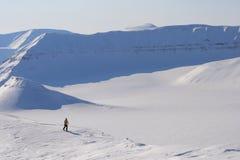 Svalbard Norge Arkivfoton