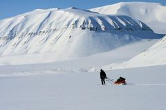 Svalbard Norway Stock Photography