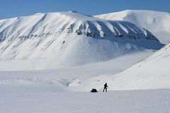 Svalbard Norway Royalty Free Stock Photography