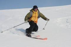Svalbard Norway. Skiing expedition in Svalbard Norway royalty free stock image