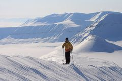 Svalbard Norway Royalty Free Stock Images