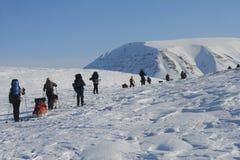 Svalbard Norwegen Lizenzfreie Stockbilder