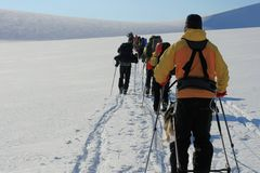 Svalbard Norwegen Lizenzfreie Stockfotografie
