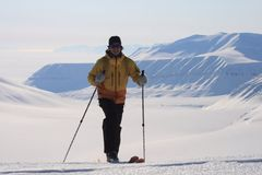 Svalbard Norwegia Zdjęcie Stock
