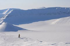 Svalbard Norwegia Zdjęcia Stock